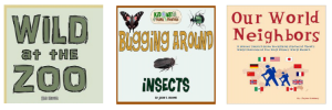 Zoo Workbook, Insect Unit Study, Homeschooling at Disney World