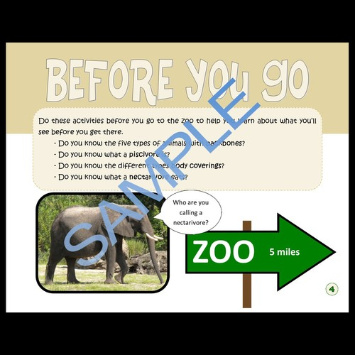Wild at the Zoo, an educational zoo workbook for schools and homeschool